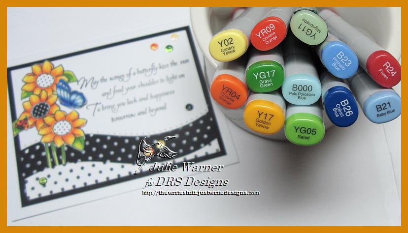 Dots & Flowers copics 06395
