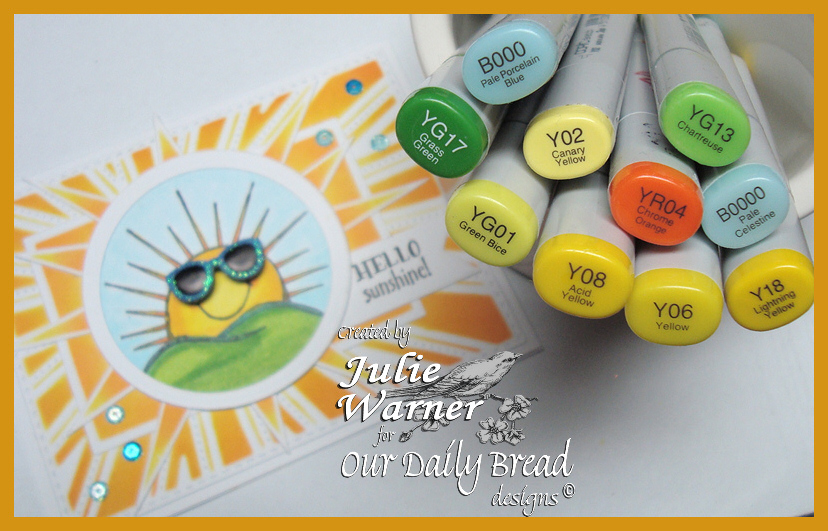 Hello Sunshine copics 06396