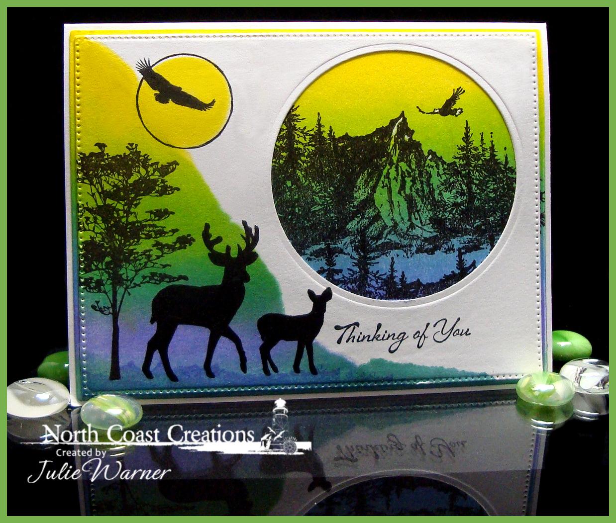 NCC Deer & Eagle 06456