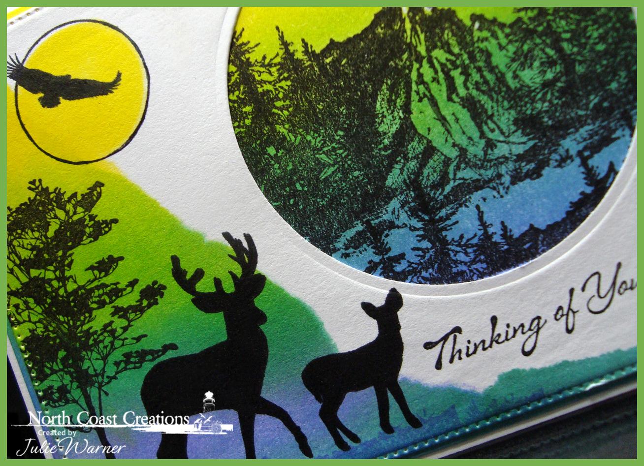 NCC Deer & Eagle cu 06461