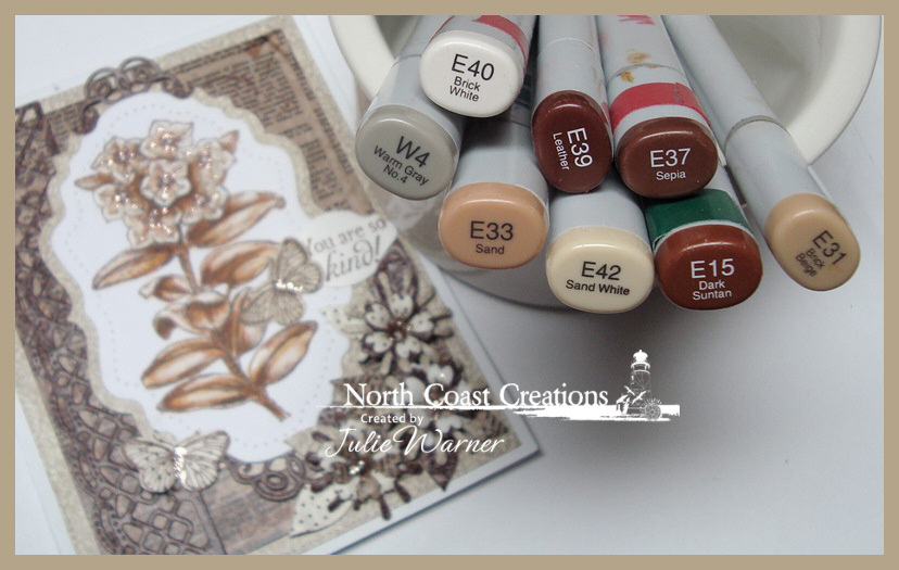 NCC Sepia Flowers copics 06597