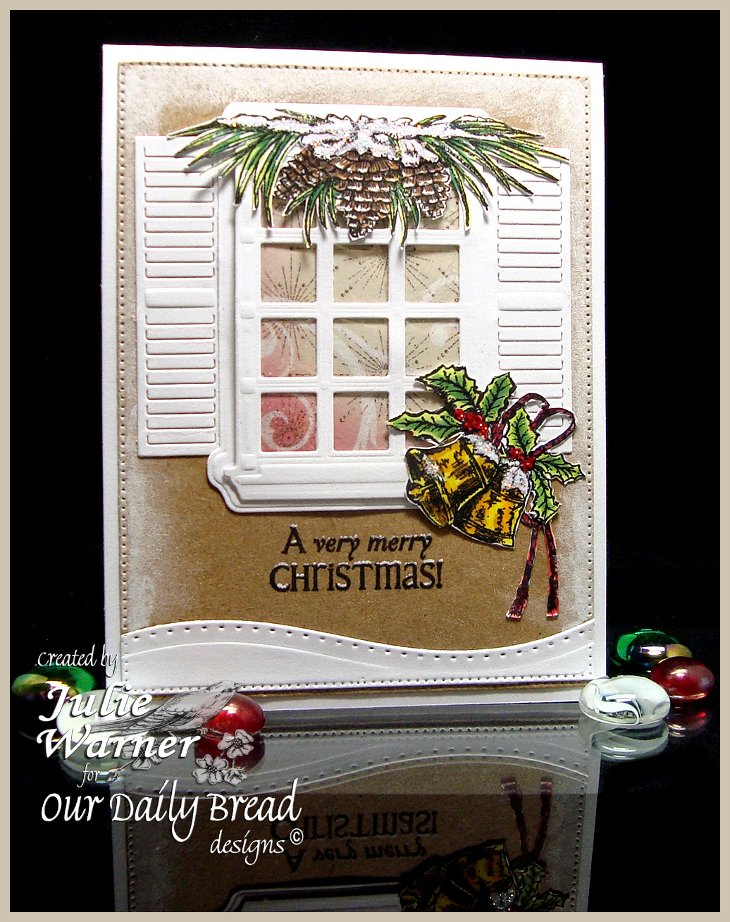 Christmas Bells Window 06854