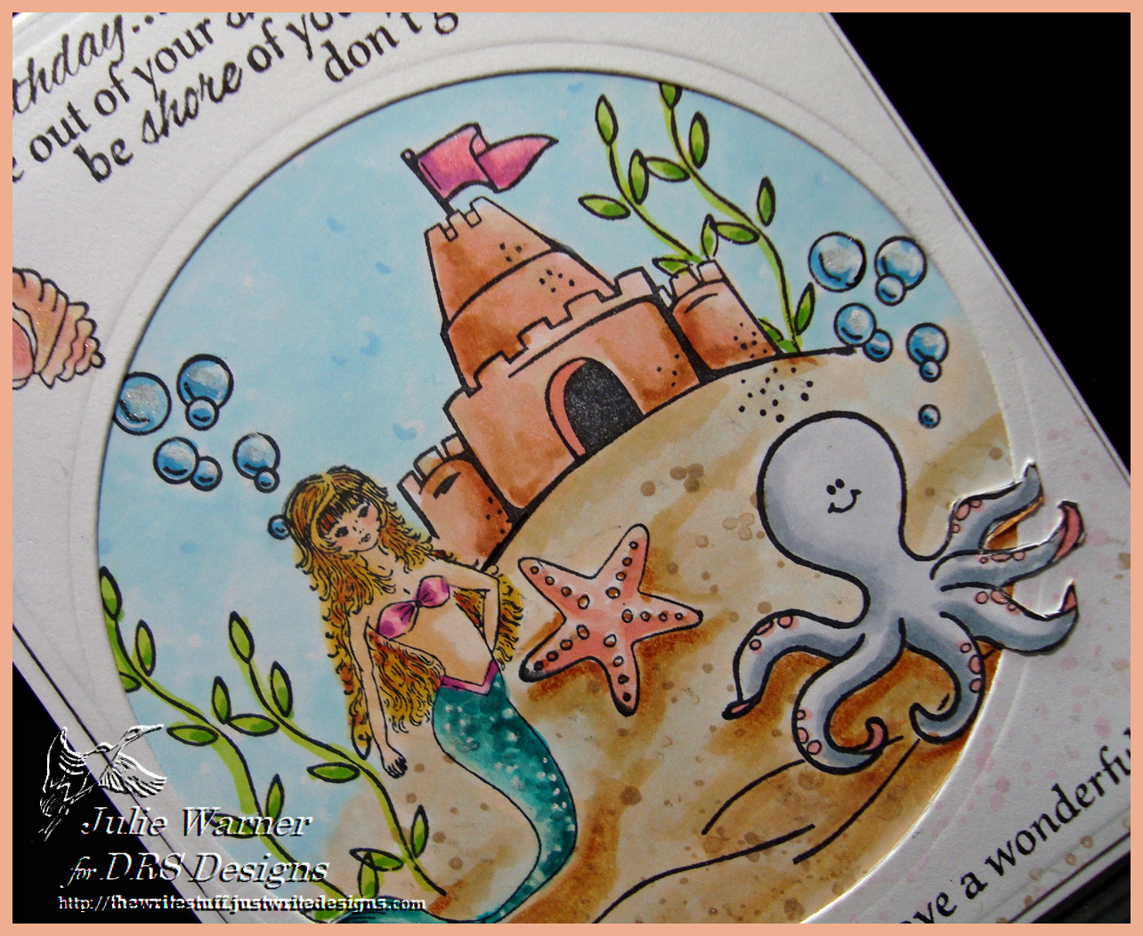 Mermaid Birthday cu 06513