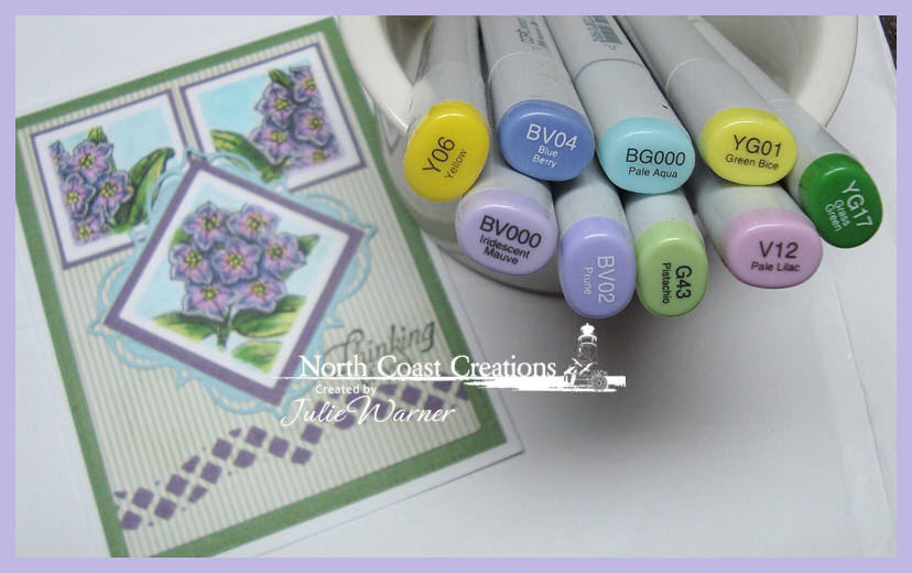NCC THinking Violet Flowers copics 06874