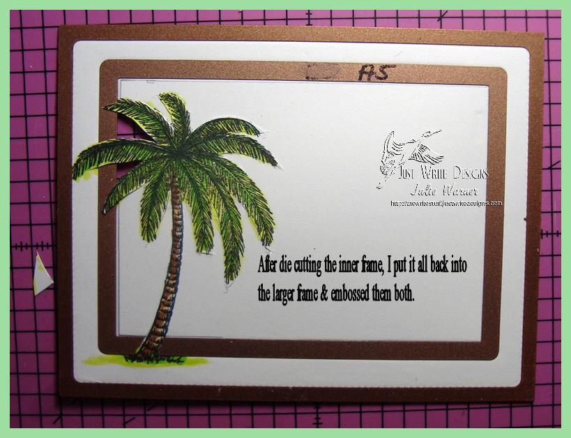 Aloha Surfboards frame emboss 06967