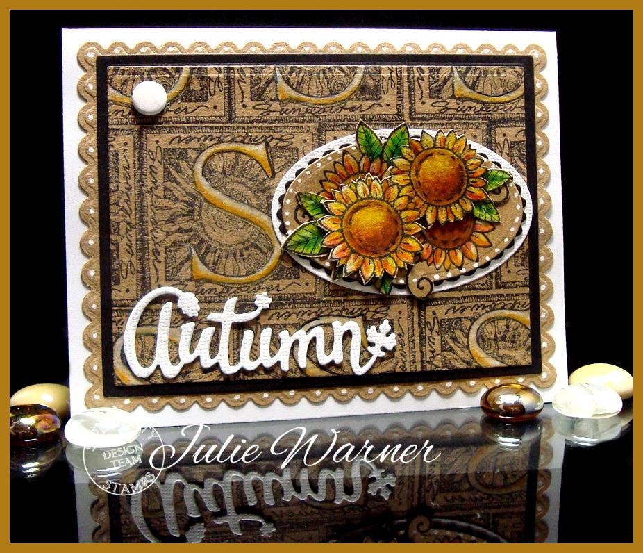 Autumn Sunflowers 07248