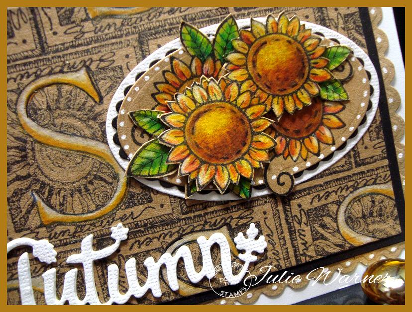 Autumn Sunflowers cu 07249