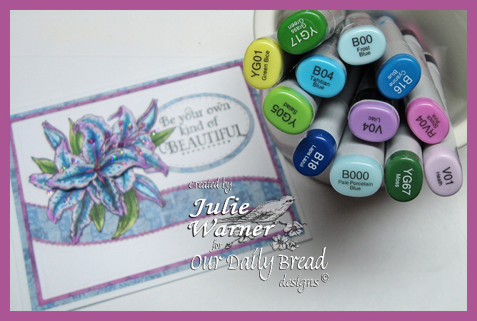 Beautiful Lily copics 07262