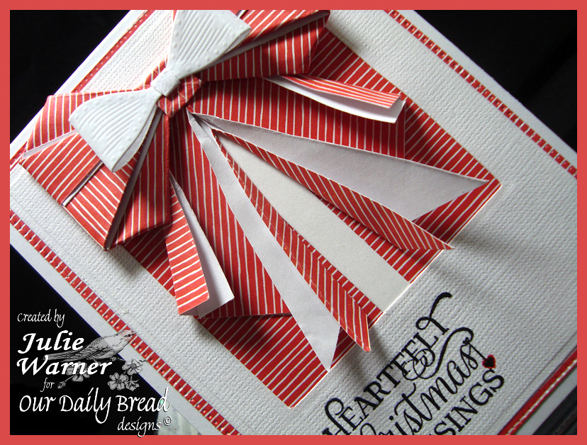Origami Christmas Bow cu 07645