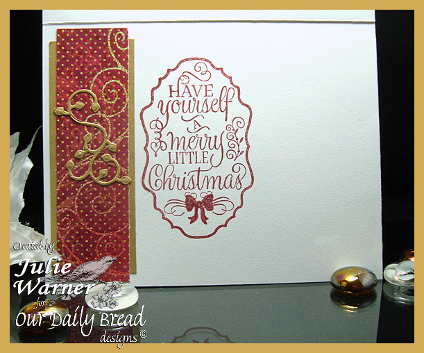Christmas Candle Frame inside 07656