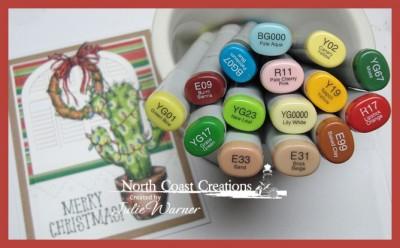 NCC Merry Cactus copics 07721