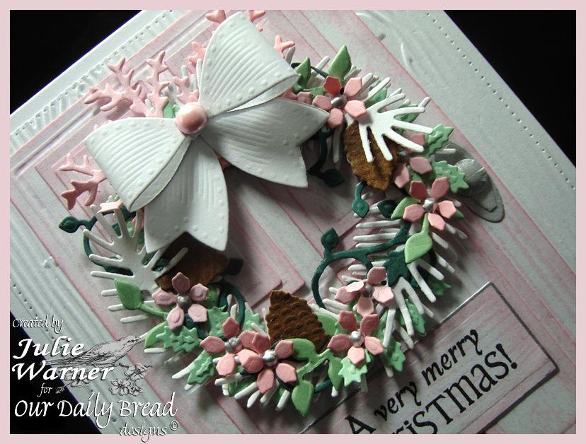 Pink Christmas Door cu 07693