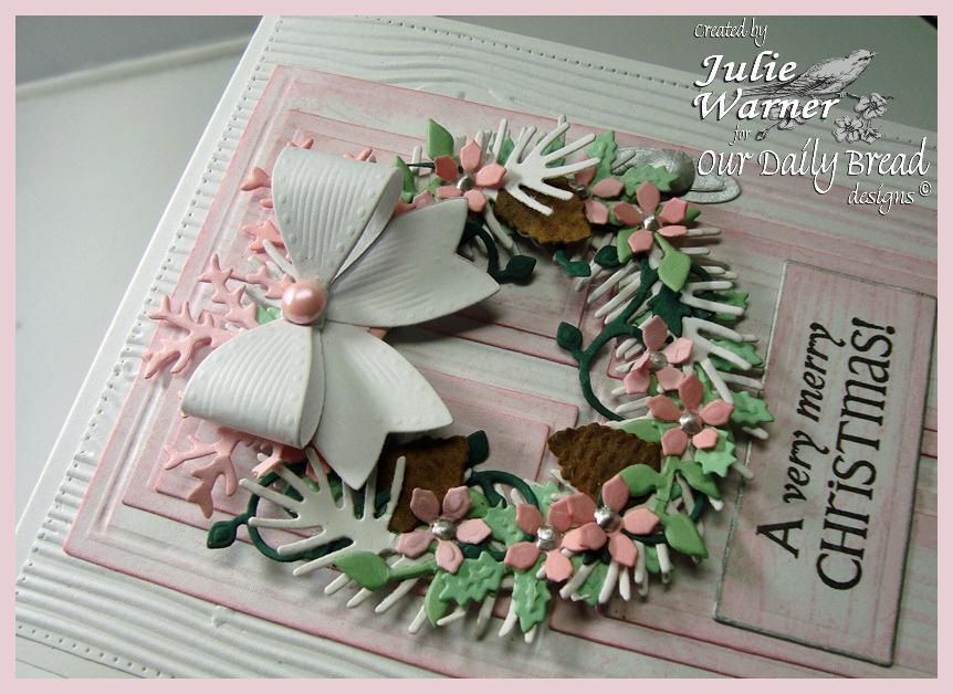 Pink Christmas Door xcu 07701