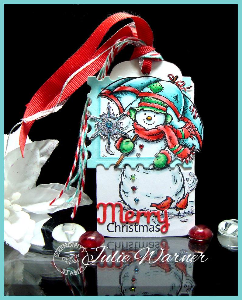 Snowman Tag 07761