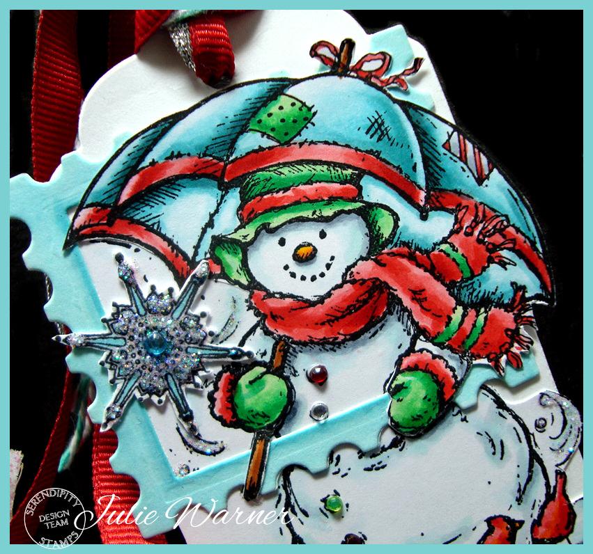 Snowman Tag cu07760