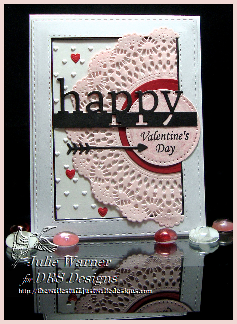 Doily Valentine 08208