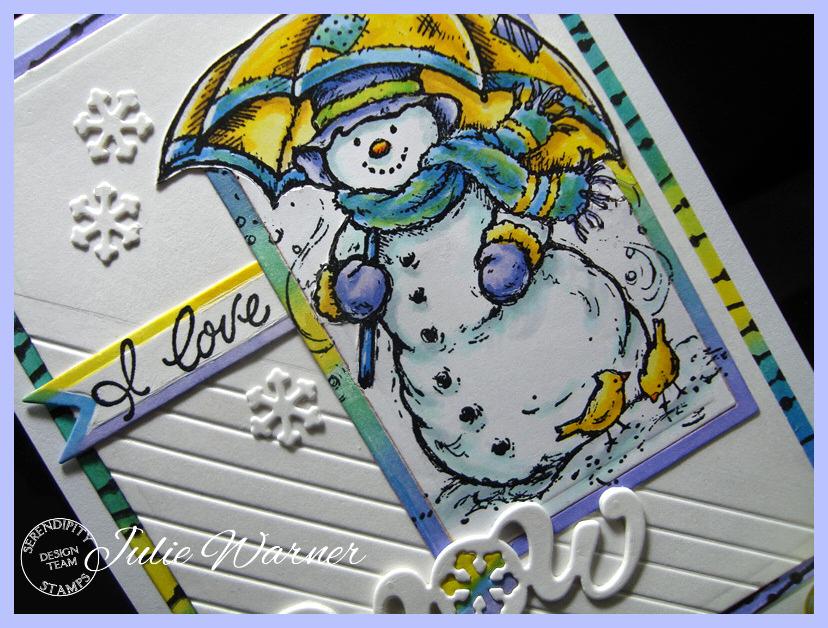 I Love Snowmen cu 08148