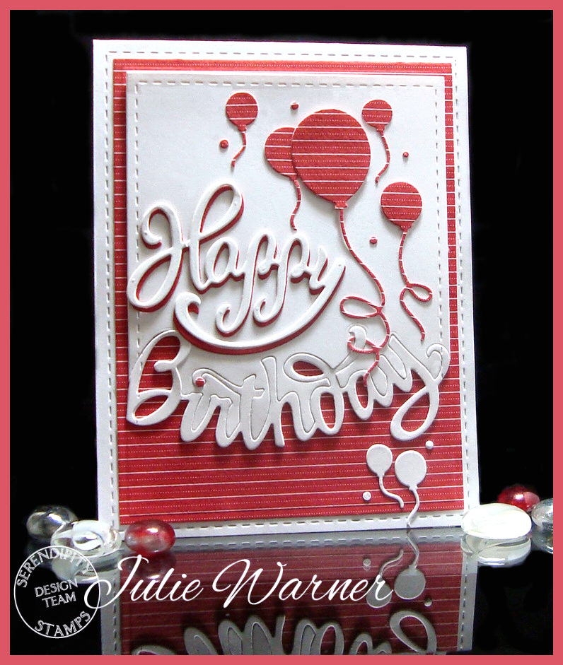 Red Birthday Balloons 08358