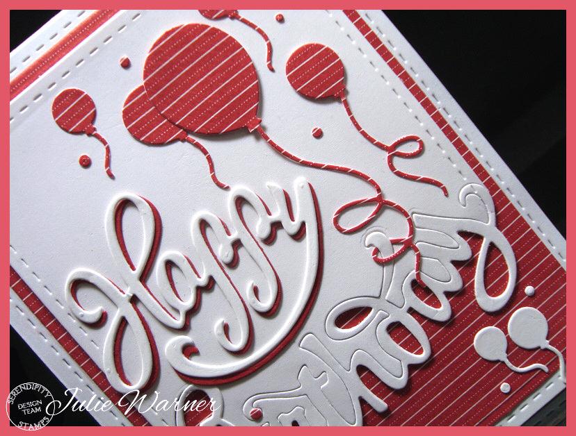 Red Birthday Balloons cu 08362