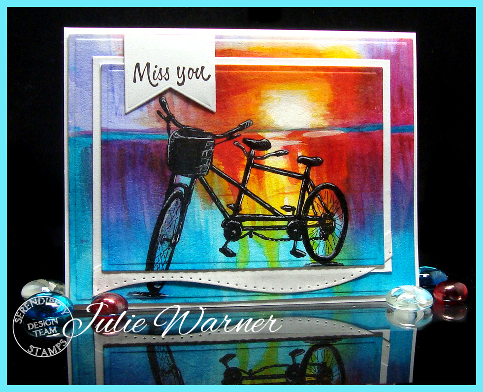 Bicycle Watercolor 08482