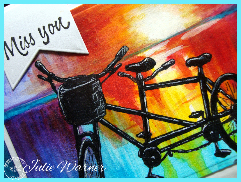 Bicycle Watercolor xcu 08485