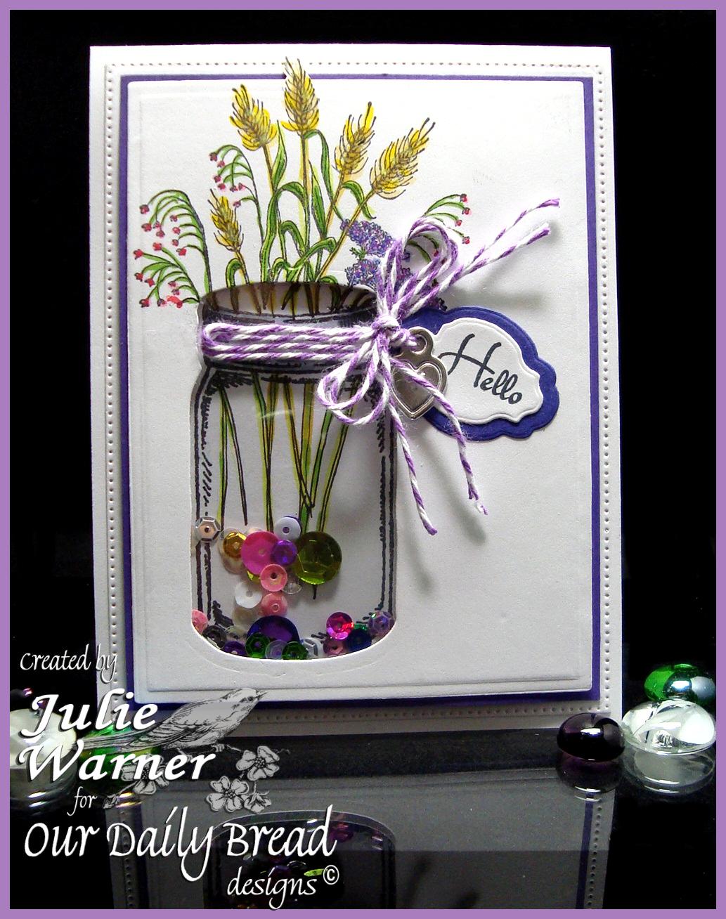 Mason Jar Wildflowers 05665