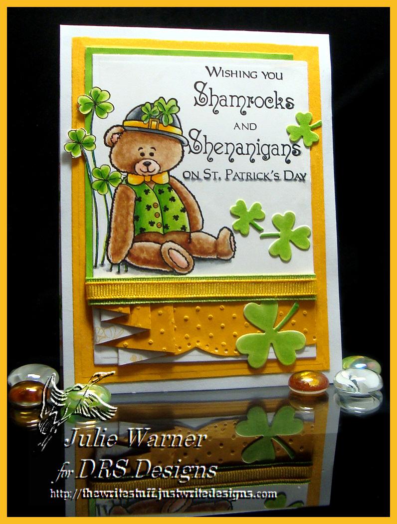 Paddy Bear Shamrocks 08416