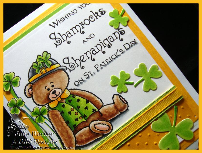 Paddy Bear Shamrocks cu 08415