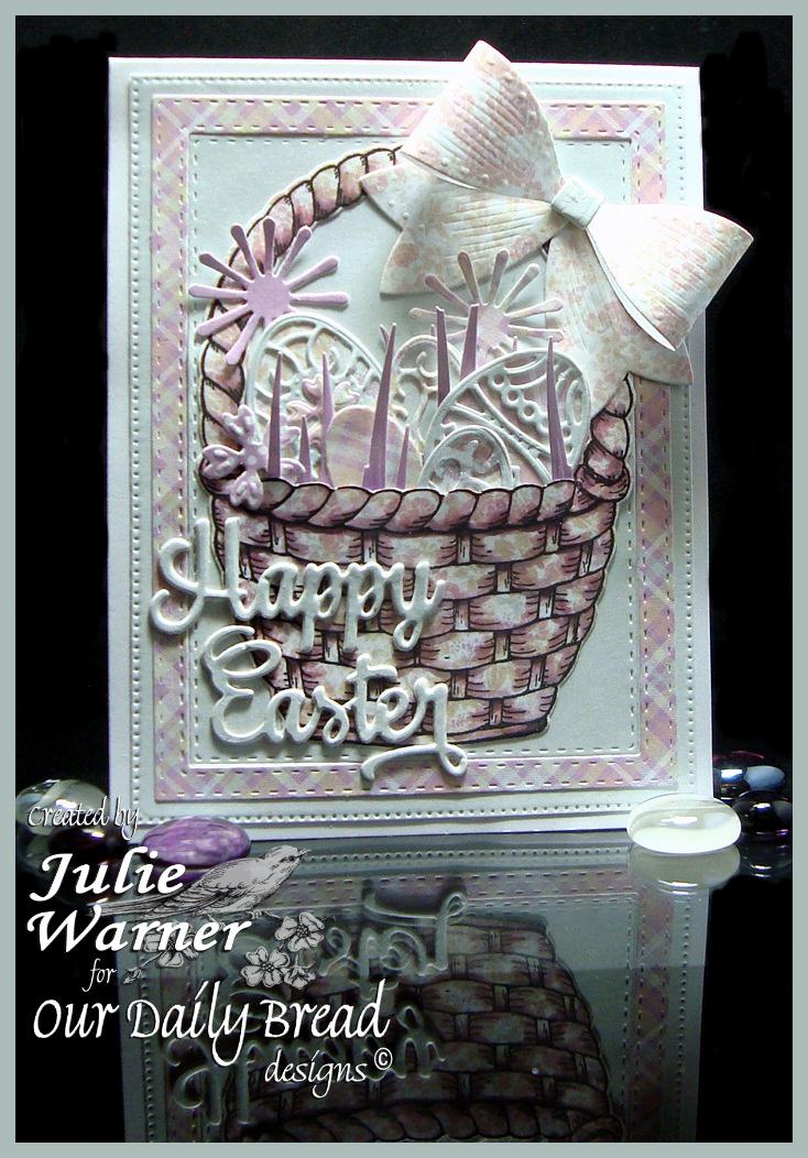 Pastel Easter Basket 08286