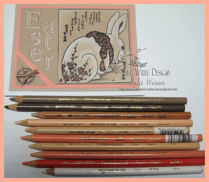 Hailku Easter Bunny pencils 08721