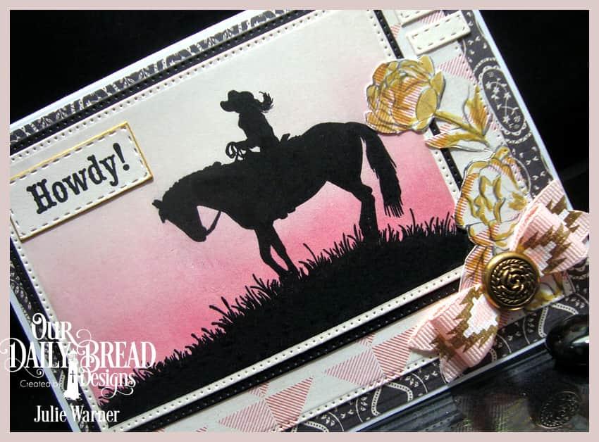 Howdy Cowgirl cu 09264