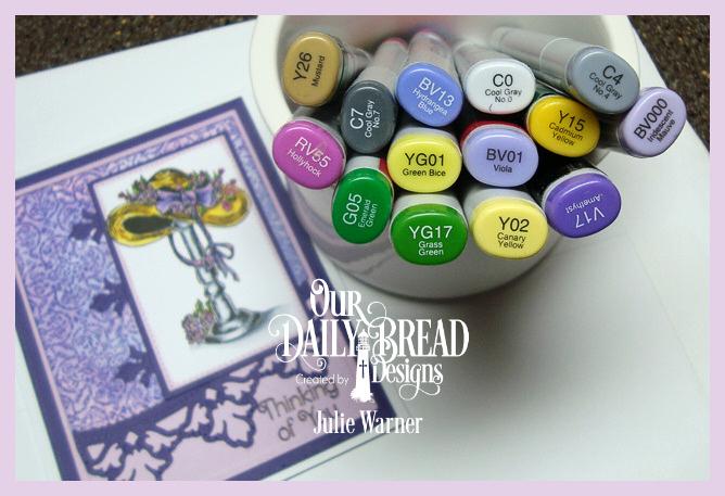 Violet Hatstand copics 09175