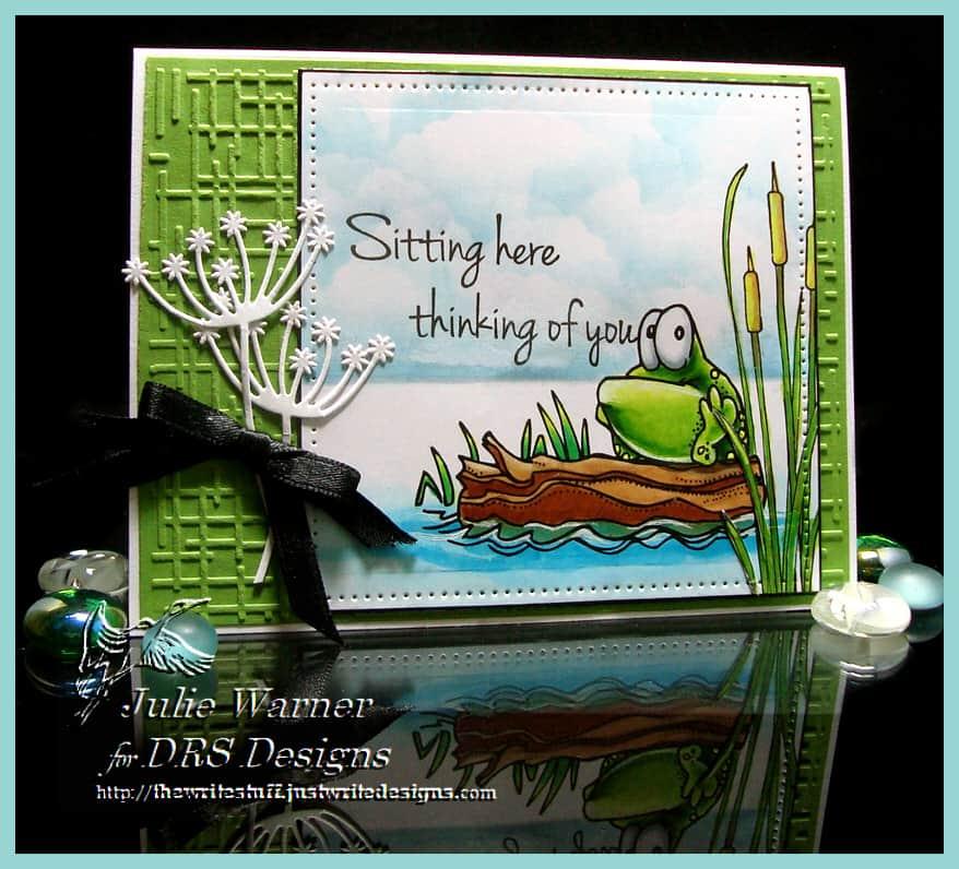 Frog on a Log 08558