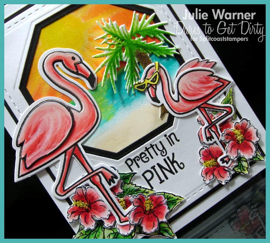 Pink Flamingos cu 09623