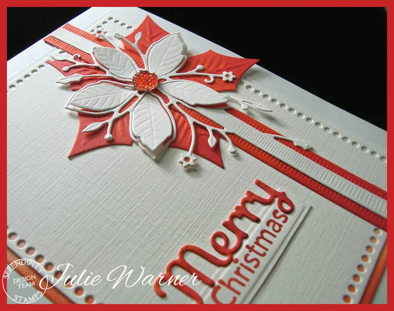 Poinsettia Ribbon xcu09534