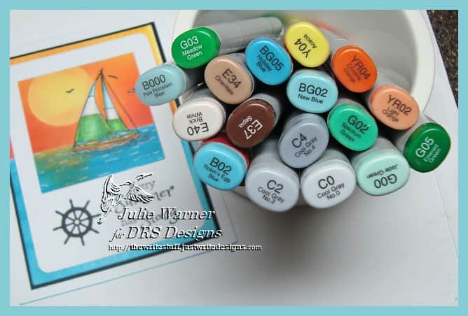 Sailboat Summer copics 09457